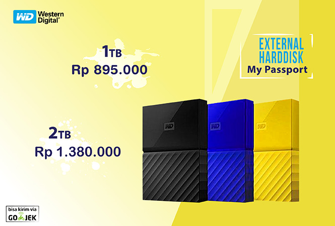 external harddisk wd passport ultra