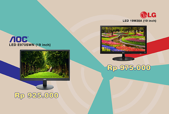 LED 19inch AOC LG brand new stock