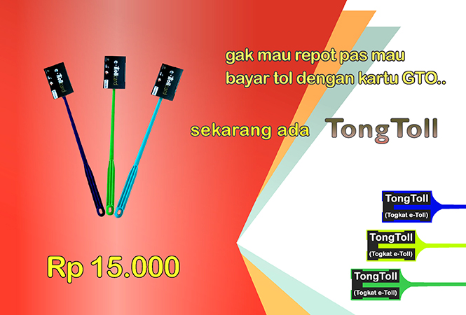 TongToll tongkat e-toll gto murah
