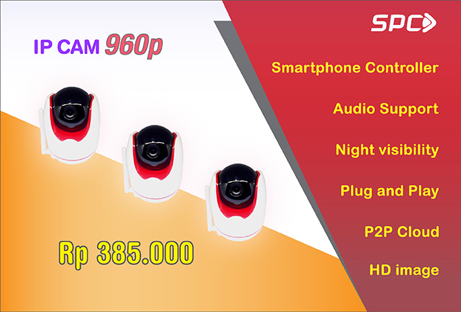 spc ip camera series 720p 960p angkasaonline semarang