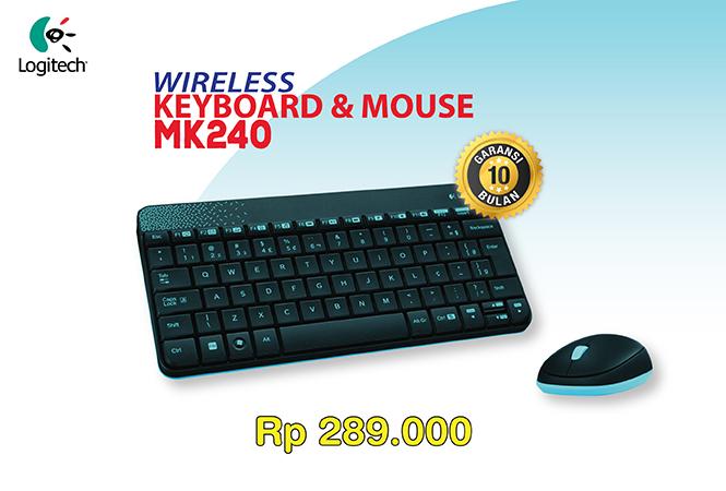logitech keyboard mouse mk240 wireless