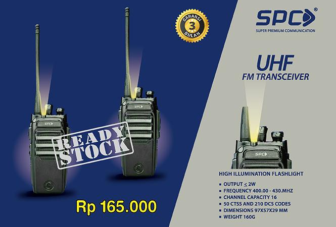 SPC UHF FM Transceiver